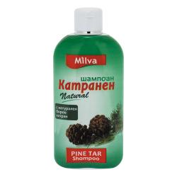 Milva DEHET - šampon na mastné vlasy, 200 ml