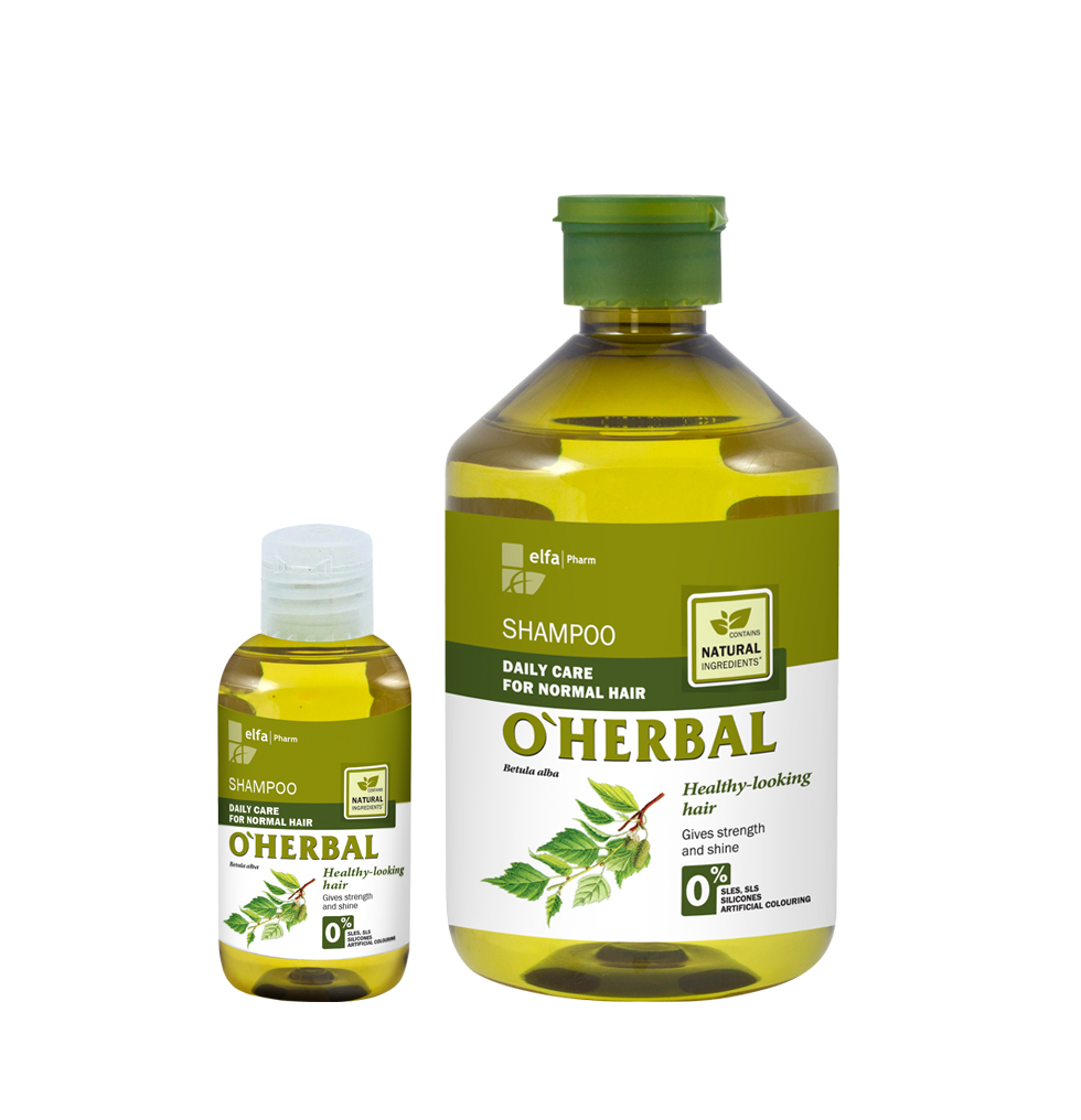 ​O'HERBAL Daily Care Normal - šampon pro každodenní péči