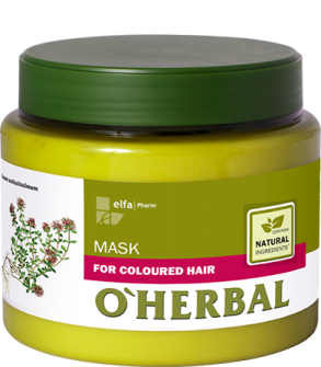 ​O'HERBAL For Coloured hair - maska na barvené vlasy, 500 ml
