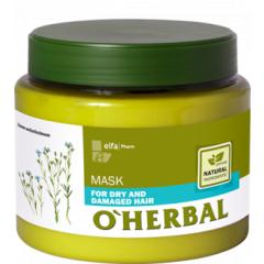 O´HERBAL For Dry and Damaged hair - maska pre suché a poškodené vlasy, 500 ml
