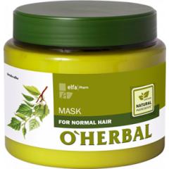 O´HERBAL For Normal hair - maska pre každodennú starostlivosť, 500 ml