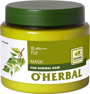 ​O'HERBAL For Normal hair - maska pro každodenní péči, 500 ml