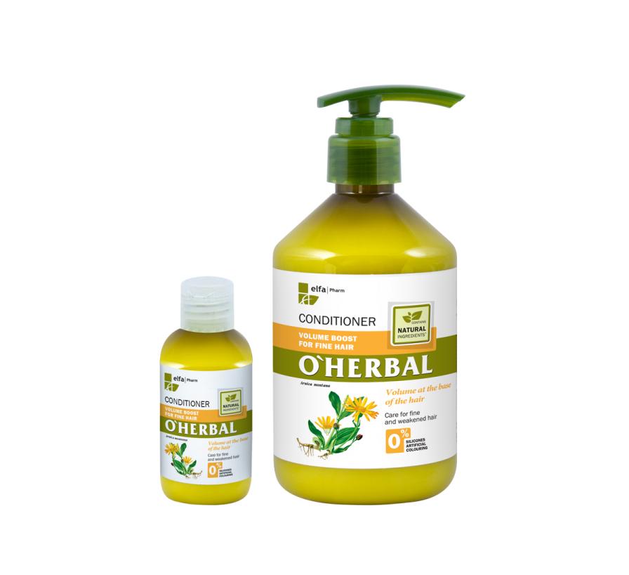 O'HERBAL Volume Boost - kondicionér pro zvětšení objemu vlasů