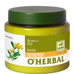 O´HERBAL Volume Boost - maska pre zväčšenie objemu vlasov, 500 ml