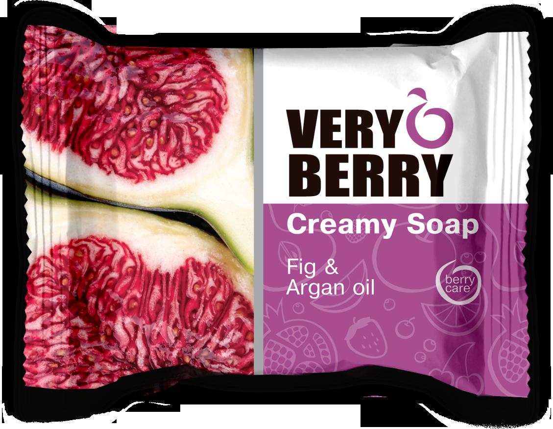 Very Berry Fig & Argan oil - krémové mydlo, 100 g