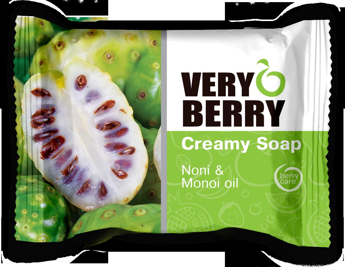 Very Berry Noni & Monoi oil - krémové mydlo, 100 g