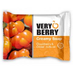 Very Berry Cloudberry & Cedar nuts oil - krémové mýdlo, 100 g