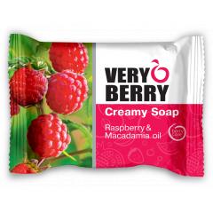 Very Berry Raspberry & Macadamia oil - krémové mýdlo, 100 g