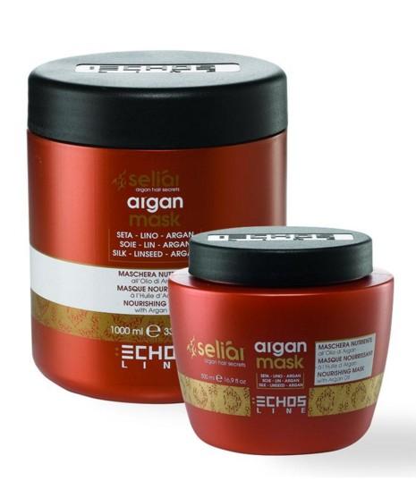 Echosline seliár argan mask - výživná maska na vlasy