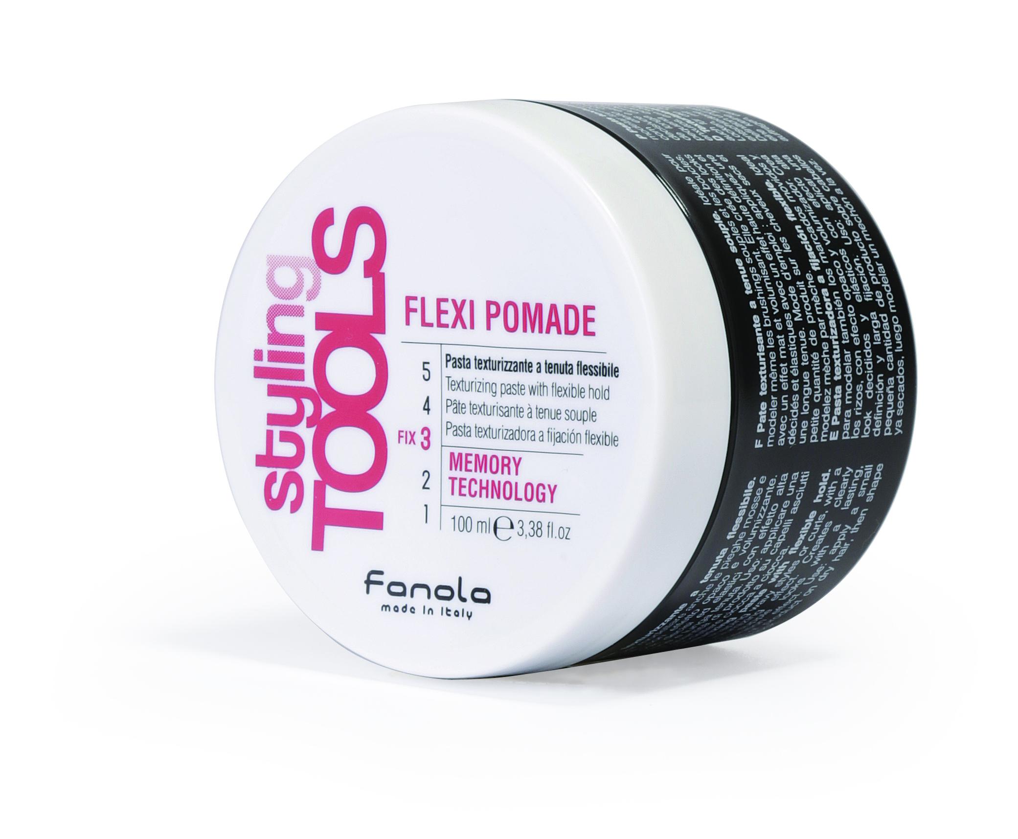 Fanola Styling Tools  Flexi Pomade - pasta pre textúru a flexibilnú fixáciu,100 ml