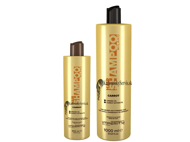 Imperity CARROT Shampoo - šampon na vlasy s beta karotenem a lněným semínkem