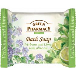 Green Pharmacy Verbena lime with olive oil - toaletné mydlo s verbenou, limetkou a olivovým olejem, 100 g