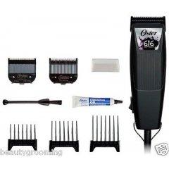 Oster SoftTouch 616-50 - profesionální strojek na vlasy + Gembird - stlačený vzduch, 400 ml
