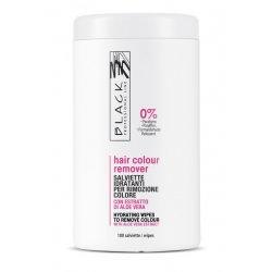 Black Hair Colour Remover - čistiace obrúsky, 100 ks