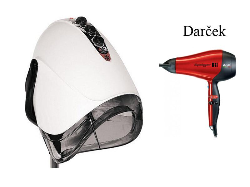 Ceriotti Egg - sušící helma s Ionic technologií - 2 - rychlostní, na stojanu