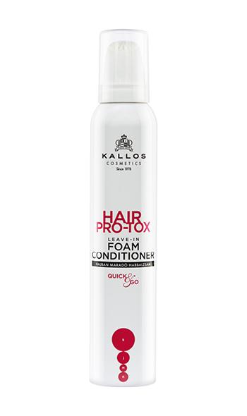 Kallos Hair Pro-tox - bezoplachový penový kondicionér, 200 ml