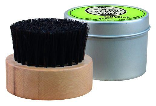 Beard Club Bamboo Beard Brush 19472 - bambusová kefa s konskými štetinami na bradu