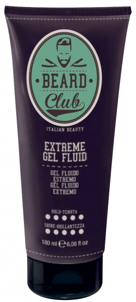 ​Beard Club Extreme Gel Fluid - gelový fluid extra silný, 180 ml