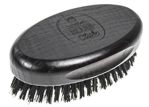 Beard Club Hair and Beard Brush Big 19375 - oválný kartáč na vlasy a bradu, velký