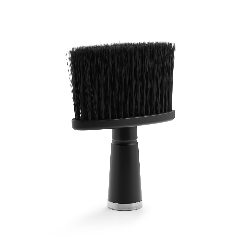 Neck-duster, black 7845 - oprašovák na vlasy, černý