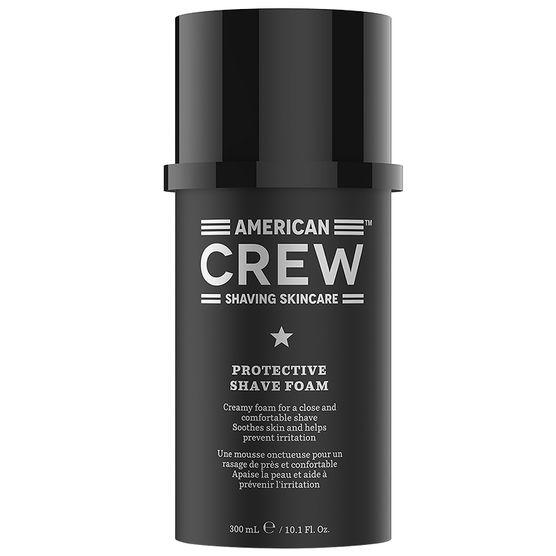 American Crew Shaving Skincare Protective Shave Foam - ochranná pěna na holení, 300 ml