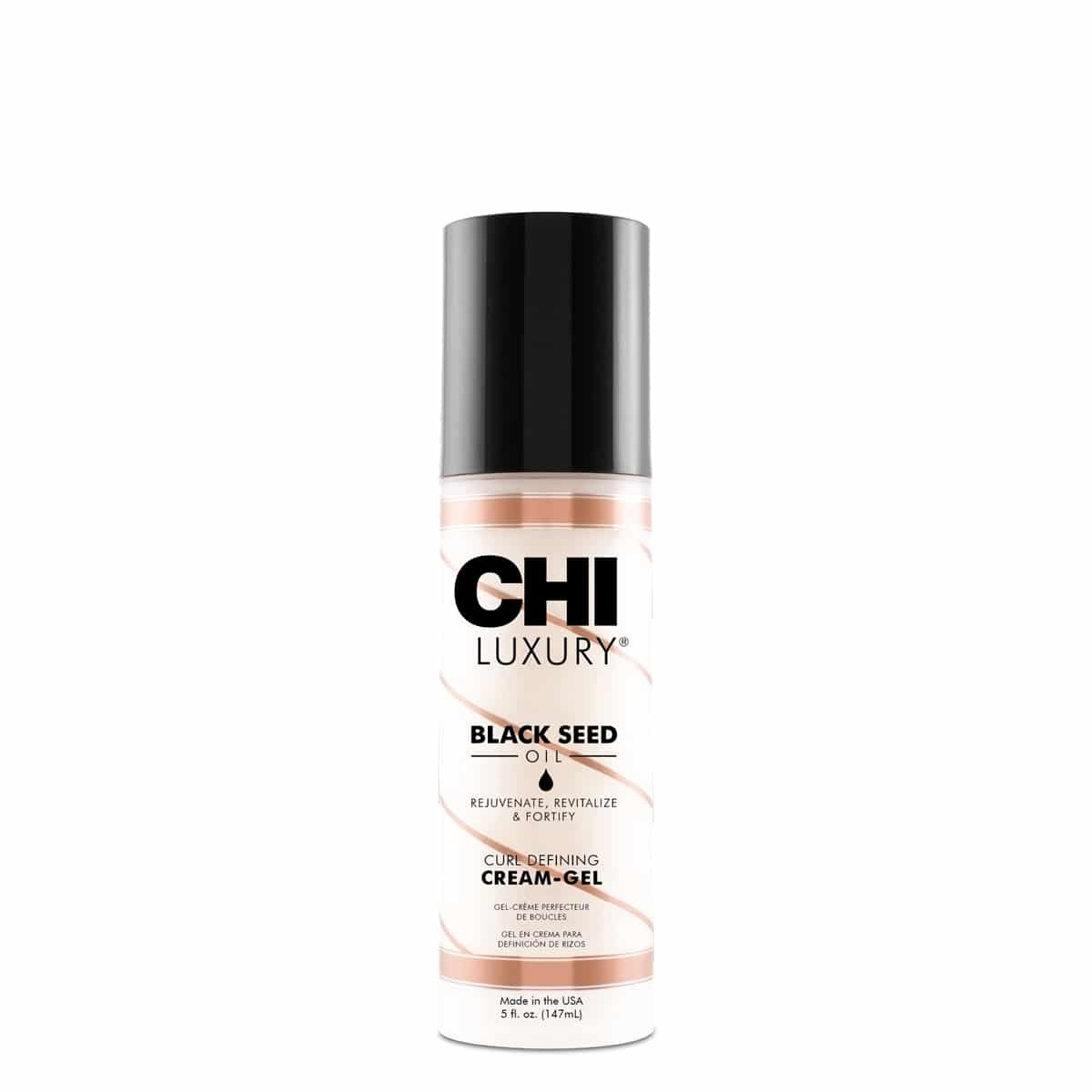 CHI Luxury Black Seed Oil Curl Defining Cream Gel - tužící tvarovací krémový gel na kudrnaté vlasy, 148 ml