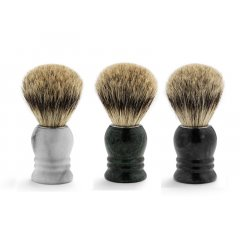 Shaving brush marble - štetka na holenie