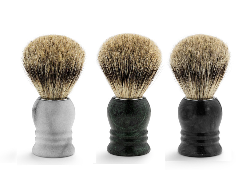 Shaving brush marble - štetka na holenie