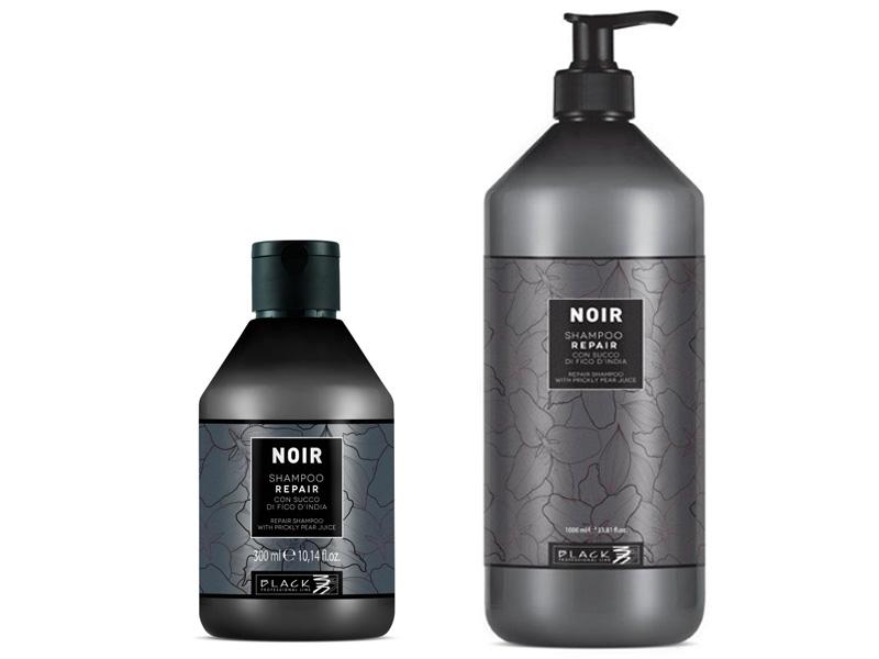 Black Noir Repair Shampoo - šampón s extraktom z opuncie mexickej