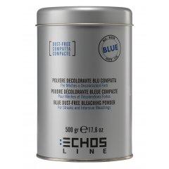 ECHOSLINE Polvere decolorant BLUE compact - modrý, bezprašný melírovací prášek 500g