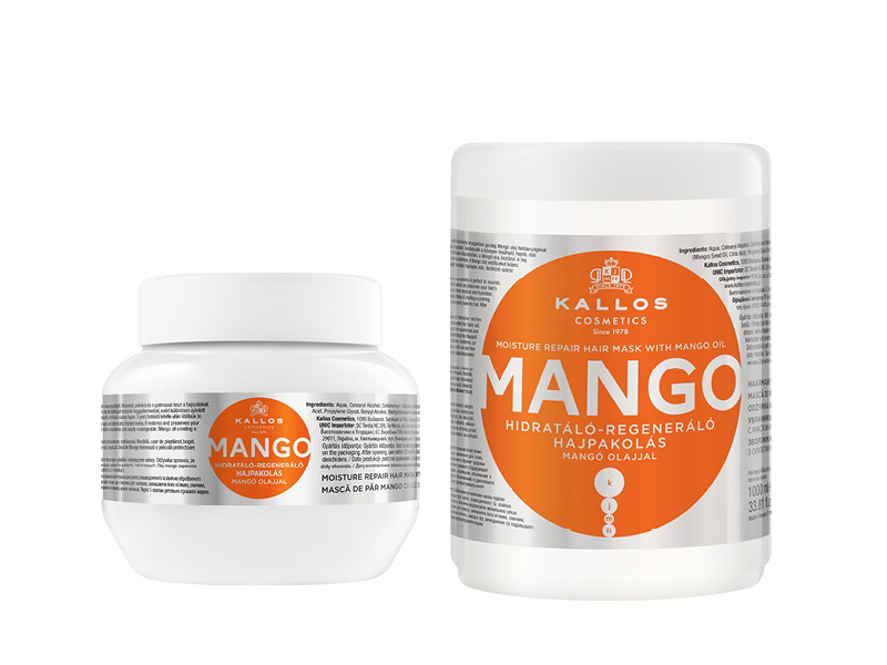 Kallos KJMN MANGO mask - regeneračně - hydratační maska