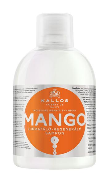 Kallos KJMN shampoo MANGO - regeneračno - hydratačný šampón, 1000 ml