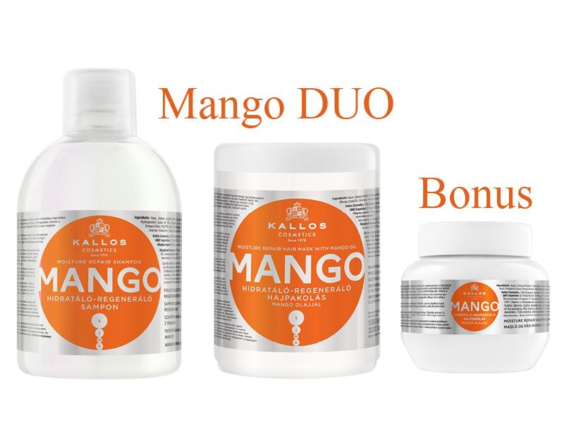 Kallos MANGO DUO - šampón + maska