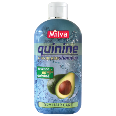Milva CHINÍN A AVOKÁDO - avokádovo chinínový šampón, 200 ml