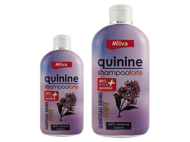 Milva CHINÍN FORTE - chinínový šampón