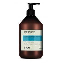 Niamh Hairkoncept Be Pure Gentle Mask - maska pre každodennú starostlivosť o vlasy, 500 ml