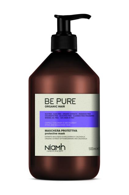 Niamh Hairkoncept Be Pure Protective Mask - ochranná maska na vlasy, 500 ml