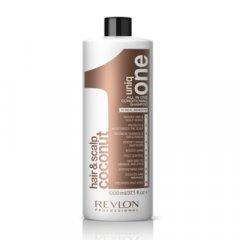 Uniq One Coconut Conditioning Shampoo - vyživující šampon s vůní kokosu, 1000ml