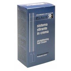 Black Straightening Hair Cream box - krém na rovnání vlasů, 100 ml + 100 ml