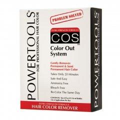COS - COLOR OUT SYSTEM - odstraňovač chemické barvy z vlasů, 2x120 ml