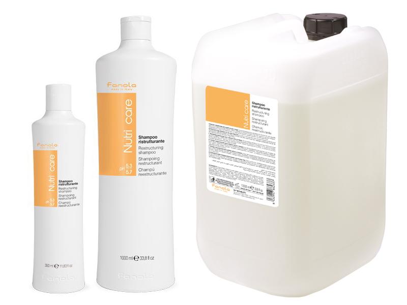 Fanola Nutri Care shampoo - regeneračný šampón na suché a poškodené vlasy