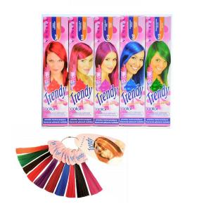 Farebné penové tužidlá