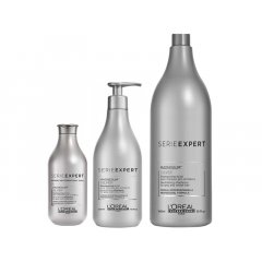 L'Oréal Professionnel Série Expert Silver Magnesium - strieborný šampón pre elimináciu žltých tónov