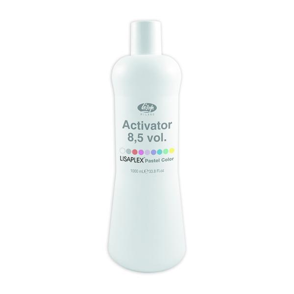 Lisaplex Pastel Color Activator 8,5 vol (2,55%) – emulzní peroxidový aktivátor, 1000 ml