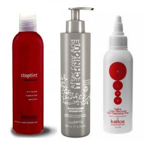 Technické ošetření vlasů a pokožky