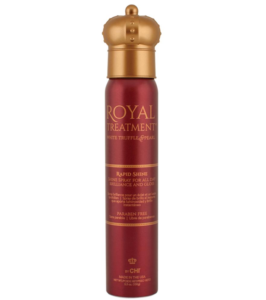 CHI Royal Treatment Rapid Shine - lesk na vlasy s ošetřením, 150 g