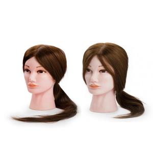 Cvičné hlavy se syntetickými vlasy