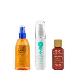 Vlasové oleje a séra