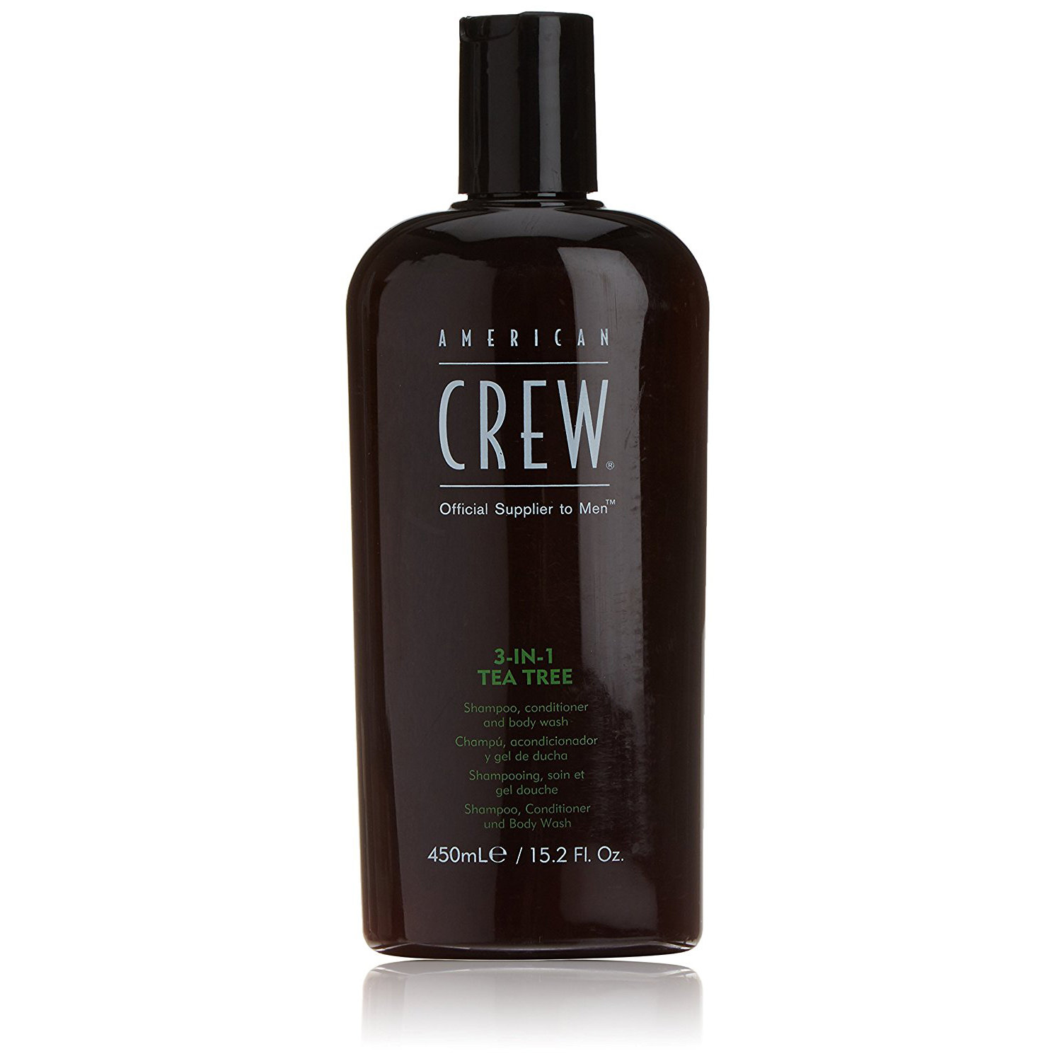 American Crew 3-in-1 Tea Tree -  šampón 3v1, 450 ml
