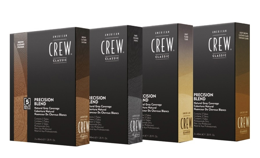 American Crew Precision Blend - pánské barvy, 3x40 ml